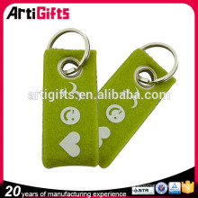 Sophisticated technology fashion felt key chain