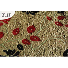 2016 Soft and Thickening, Popular Suede Jacquard Sofa Fabric