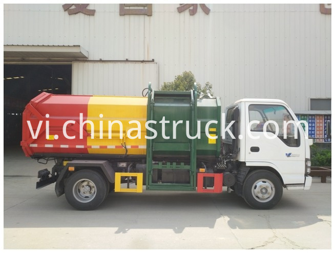 Isuzu Side Loader Garbage Truck