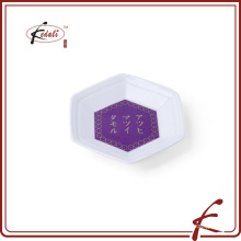 Japanischer Supermarkt-kundenspezifischer keramischer Porzellan-Teller-Geschirr-Geschenk-Satz