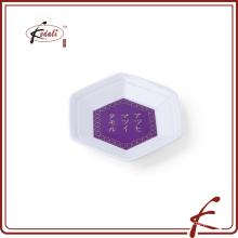 Japonês supermercado costume cerâmica porcelana prato talheres conjunto de presentes