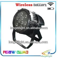 Batteriebetriebene LED PAR Wireless dmx IP65 Wasserdichte LED Bühnenlicht
