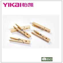 Útil conjunto de 24 piezas de madera de pino pegs impermeabilización de insectos