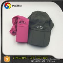 2015 nueva gorra de béisbol plegable del campista del diseño