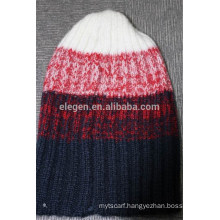 Yarn Dyed Acrylic Knitted Winter Hat