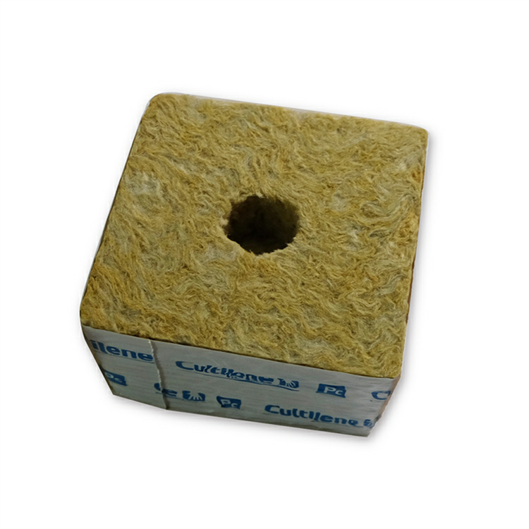 Pertanian Hydroponic Rock Wool Grow Cubes