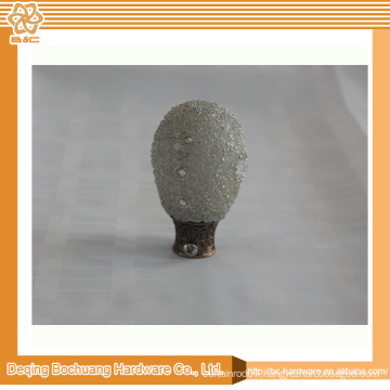 2014 High Quality Metal Curtain Finial
