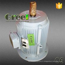 Générateur permanent d'aimant de 10kw 200rpm avec synchrone triphasé à CA