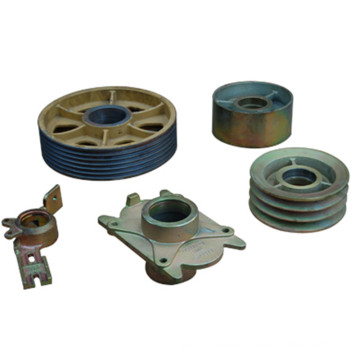 Sand Casting and Machining Pulley Used on Farm Machine