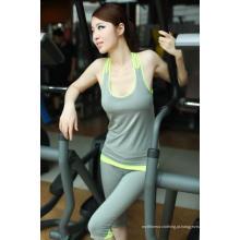 Yoga Tights Mulheres Formação Capri Fitness Wear de roupas Crossfit