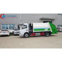 Camion compacteur de déchets Dongfeng 120hp 8cbm neuf