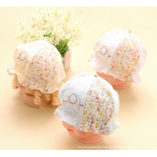 Baby 6 Panels Fashion Printed and Embroidered Bucket Hat