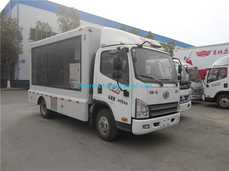Advertisement Truck 1