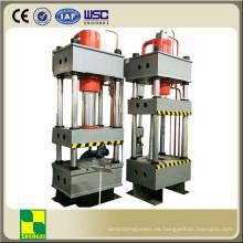 Prensa de forja de metal de cuatro columnas