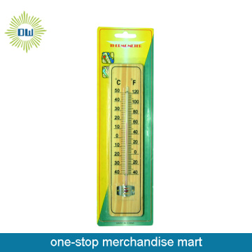 Dollar Items of Wooden Home Use Thermometer