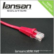 4PR 24AWG UTP CAT 5e Kabel / Patch Kabel / Patch Cord / Ethernet Kabel, 100Mhz / PVC / LSOH