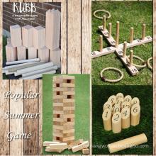 Classic Garden Wooden Adult Kinder Outdoor Spiel