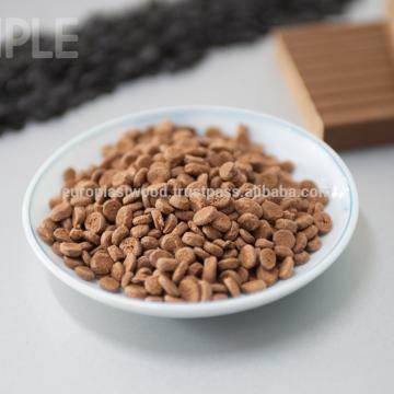 Wholesales Price WPC composé / granule / grain fabriqué au Vietnam.Ha qualité, 100% naturel, imperméable à l'eau, le meilleur pour les produits extérieurs WPC