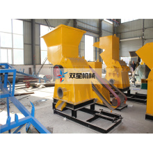 rubber aluminum can crusher granulator machine