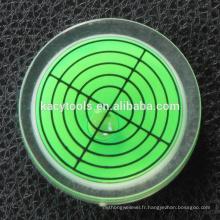 Niveau de bulle ronde 32x12mm
