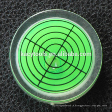 Mini nível redondo da bolha 32x12mm