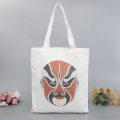Beijing Opera Facial Masks Cotton Canvas Bag