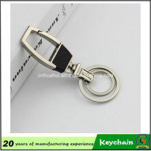 2016 New Style Metal Leather Keychain
