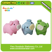 Pig Shaped Eraser,Separable Stationery  Promotion gifts
