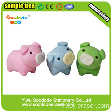 Pig Shaped Eraser,Separable Stationery  Promotion gifts