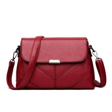 Los bolsos más nuevos grandes elegantes del hombro de la señora de cuero de la oficina