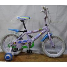 Bicicleta branca popular dos miúdos das bicicletas das crianças do pneumático (FP-KDB130)