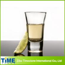 Cristal corto transparente para tequila (GW-001)