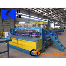 JIAKE 3-8MM Pre-Cut Rebar Steel Mesh Machine (Reinforcing Mesh Processing Machine)