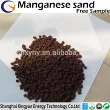 1-2,2-4mm traitement de l'eau prix du marché du manganèse concurrentiel