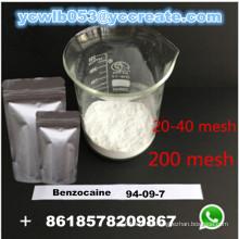 USP Grade Benzocaine CAS 94-09-7 anesthésique anesthésique topique Chine Fabricant