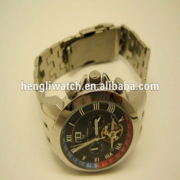 Fashion Automatic Watch, Men Stainless Steel Watches 15040