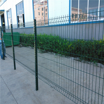 Top Suppliers for Triangle 3D Fence curvy welded iron wire garden fencing mesh supply to Zimbabwe Importers