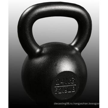 Hotsale Elite Premium Quality Глянцевые тренировочные весы E-Coating Kettlebell