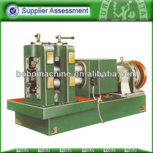 Rolling machine for stainless steel flatware, tableware
