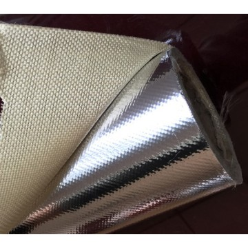 Anti Korosi Tahan Api Aluminium Foil Fiber Glass Cloth