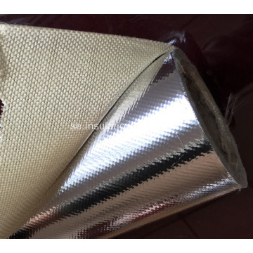 Anti Corrosion Fireproof Aluminium Foil Fiber Glass Cloth