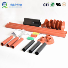2:1 heat shrinkable sleeve for cable terminal kits