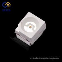 SMD LED PUCE 0.06W ROUGE 620-625NM LED LUMIÈRE ÉMETTANT LA DIODE 3528 SMD
