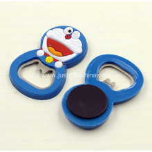 Promotional PVC Bottle Opener with magnet