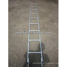 Escada de andaime de aço galvanizada EN10219 / escada do macaco