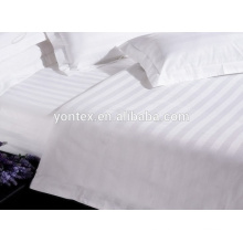 100% cotton hotel embossed stripe fabric