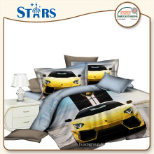 GS-FM3DO-04 home bedding microfiber 3d printed 100% polyester fabric