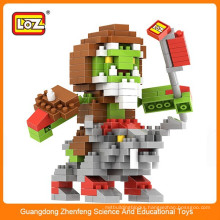 Great game character loz block toy for kid