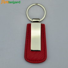 Leather Keychain Custom With Custom Color