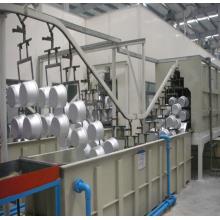 Sistema de pulverização de revestimento em pó para metal